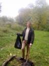 Результат сбора мусора в парковой зоне на ВДНХ (район Магелана)
