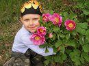 """Дети цветы жизни (знаки препинания проставить самостоятельно). Самый маленький наш турист на турстоянке """"Серебряные струи"""", 4-й день похода."""