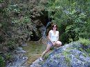 Водопадик на горе Олимп