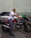 только купил мотоцикол