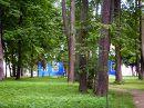 В приусадебном парке