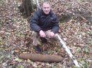 """реактивная мина от немецкого миномёта \""""Nebelwerfer\""""..."""