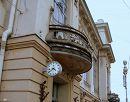 Часы на Западном Фасаде Витебского вокзала