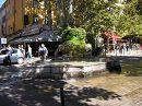 смесь фонтана и природы (Экс-ан-Прованс, Франция)