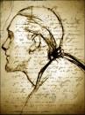 """гравюра """"Моцарт"""" (датирована 04.11.2006, Пузата Хата)"""