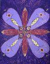 Матрица Фиолетового цвета