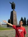 ДНЕПРОГЕСС, памятник Ленину и я , его потомок.....
