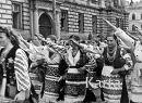 Торжественный парад парад во Львове по случаю прихода фашистов(1941 г.)