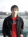 Я в Питере (февраль 2006) И такая жара.