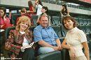 Сиджу на трибуні найбільшого стадіону у Німеччині!  Франкфурт-на-Майні, серпень 2005 р.