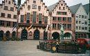 Затишні європейські будиночки - у мене асоціюються найбільше з Ельзасом.   Франкфурт-на-Майні, Німеччина, серпень 2005 р.