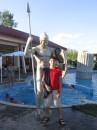 Римлянин и я :)