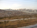 Поселение бедуинов перед огорождением от арабских территорий