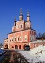 Зимняя Сретенская церковь