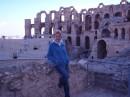 Амфитеатр в Тунисе
