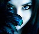 девушка птица
