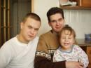 А это Я с братом и сестричкой. вот такая наша троица