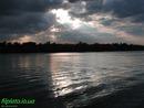 Киевская весна. Майский закат после грозы