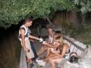 """Август 2006, Крым, гора Ай-Петри. Ну и напоследок """"догнаться"""" чайком, заваренным на самых разных травах :)"""