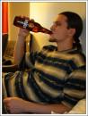попиваю финское пиво Турку, Финляндия 17\11\2006