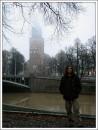 кафедральный собор, речка Аура Турку, Финляндия 19\11\2006