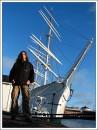 речка Аура Турку, Финляндия 19\11\2006