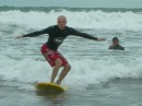 Bali, Indonesia - catching a wave...