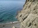 Вид с высоты 50-ти метров (Пляж на который можно попасть только с моря) Фото отчёт с фестиваля :)))))