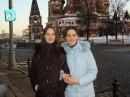 У храма Василия Блаженного.
