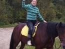 ...И лошадей я не боюсь,...