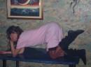 Я в подареной начнюшке,  уже чуть выпили)))