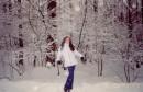 Снегурка:)