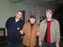 я с другом и дж радио Европа+ Леншиным (в середине)