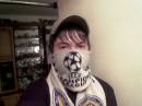 Я с шарфом F.C,D,K