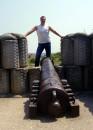 Я читал, что так поступали с бунтарями в коллониальной индии :-) на самом деле 3 бастион севастопольской битвы