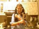 Ексклюзивне фото... Я в домашніх умовах.. На кухні...))))