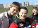 С друзьями на футболе !