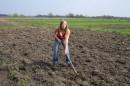 А это я тружусь в поте лица :-))) апрель 2006