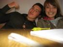 Я и однокласница Машка с которой я сижу