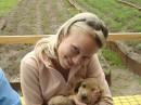 Люблю маленьких щеночков:))