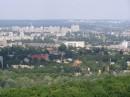 Вот такой вот вид с 22-го єтажа телецентра. На заднем плане - Вішгород.