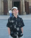 В шапке:D