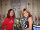 Я (слева) и моя сеструха Ирка  Новый год 2007!!!