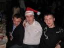 Дід Мороз на корпоративній Новорічній вечірці.