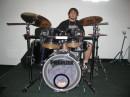 моё хобби - игра на барабанах