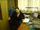 Вот чем Ксюша занята на работе? Не понятно? Работу работает!!!))))