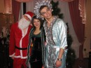 Новый 2007 Год в Славянске. С Дедушкой Морозом и Снегурочкой :) А кем была я, угадаете?