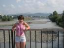 Это я в Адлере напротив Кавказких гор!