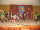 Школьный выступ... 2006 year