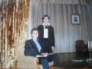 Я со своим другом Жекой (Незабывашка) у него в 71 школе на городском конкурсе по русской литературе )) Жека - лучший!